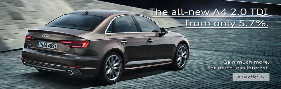 All-new A4 2.0 TDI